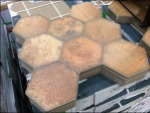 Honeycomb Tile Flat Aux