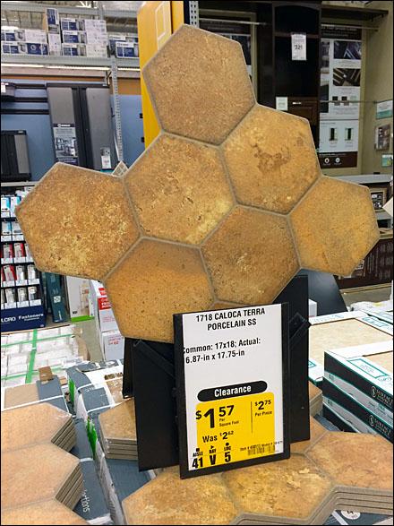 Honeycomb Tile Holder