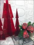 Red PlexiGlass Christmas Trees 2
