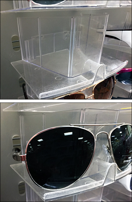 Slotted Sunglass Trays Combination
