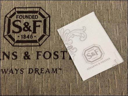 Sterns & Foster Pillow Napkin Main