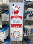 Target Bullseye Playground In-Store Game Aux