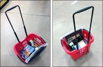 Target Wheeled Carry Basket Aug