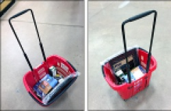 Shopping Carts vs Carry Baskets
