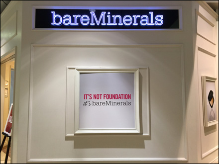 Bare Minerals® Store Branding by Shiseido – Fixtures Close Up