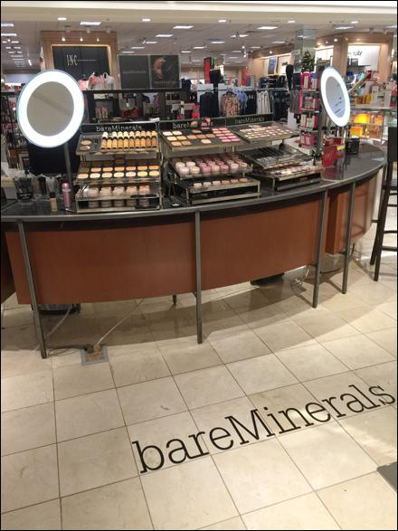 Bare Minerals® Department Branding Main