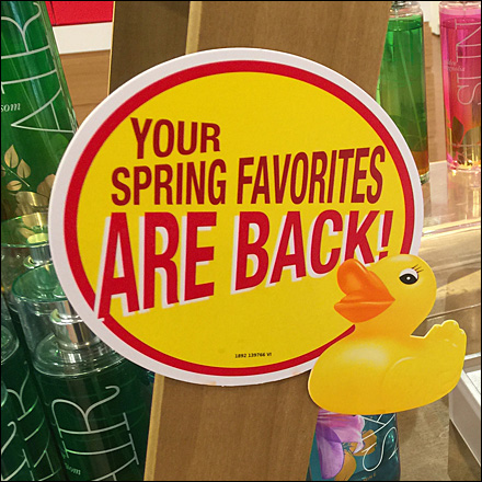 Bath and Body Works Spring Favorites