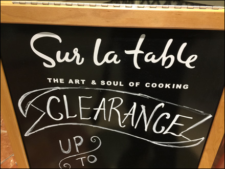 Branded Chalkboard Detail