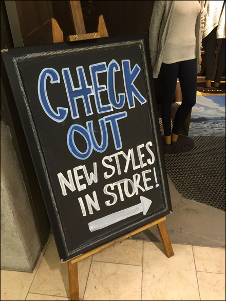 Chalkboard Check Out New Styles 3