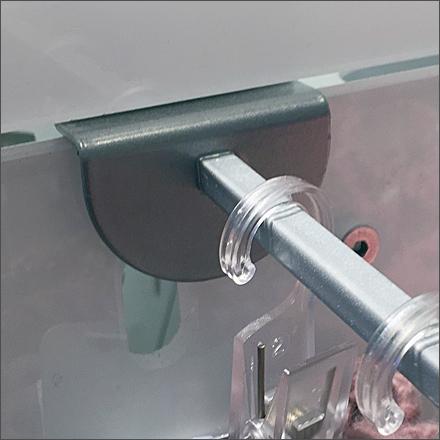Circle Backplate Slotwall Display Hooks Main