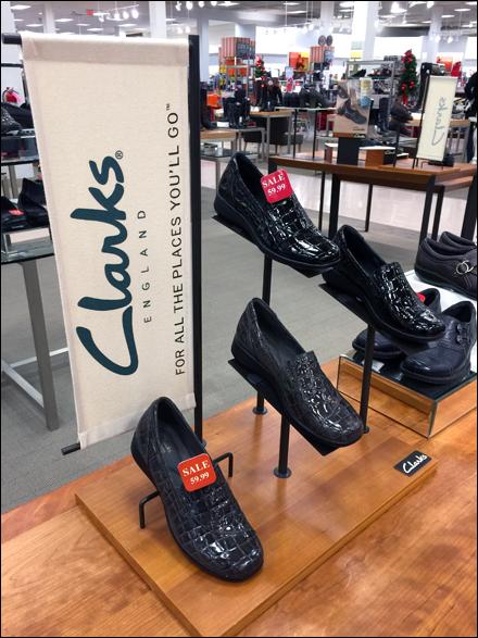 Clarks Shoe Branded Banner Main