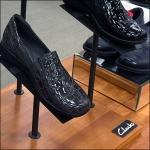 Clarks Shoe Branded Pedestal Base