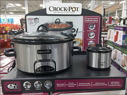 Crock Pot Point of Purchase Overall