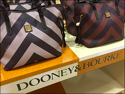 Dooney & Bourke Dazzle Paint Bi Polar Brand Main