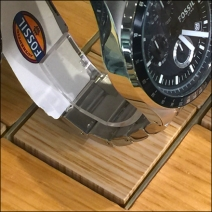 Fossil Plug-in Wood Watch Bases 3