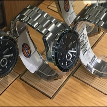 Fossil Plug-in Wood Watch Bases Main
