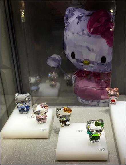 Swarovski Four Shades of Hello Kitty