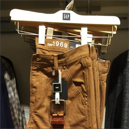 Gap Branded Hanger and Belt Hook