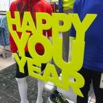 Happy You Year CloseUp