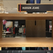 Hudson Jeans Square Hole Perforated Metal 2
