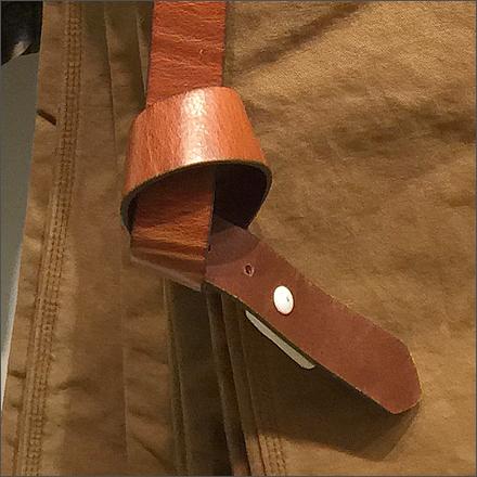 Knotted Belt for Slacks CloseUp