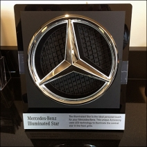 Mercedes Benz Illuminated Star Sq