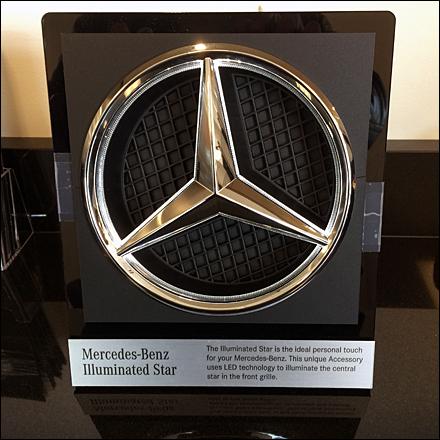 Mercedes Benz Illuminated Star Sq