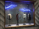 Neon Tree Branch Window Dressing 1