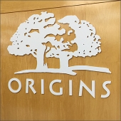 Origins for Eyes Logo Dept Branding