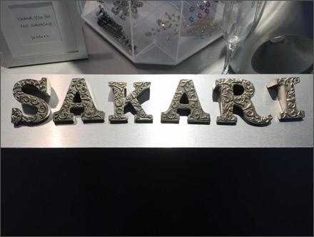Safari Spa Cashwrap Branding