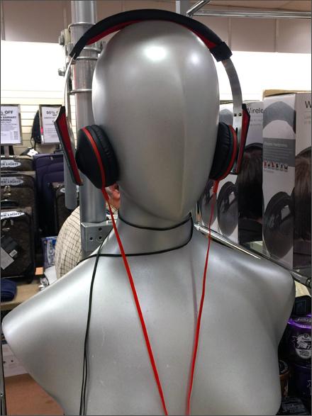 Silver Headphone Headforms Main