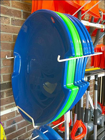 Snow Disk Slung Side-Saddle Detail