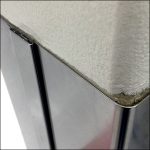 Stainless Steel Column Guard Detail