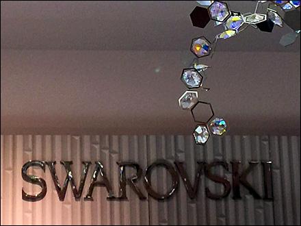 Swarovski Ceiling Crystals 3