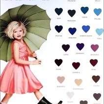 Chasing Rainbows Color Samples 2