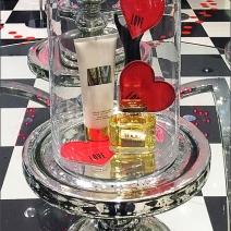 Flight of Valentines Bell Jar Closeup