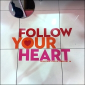 Follow Your Heart Floor Graphic Sq