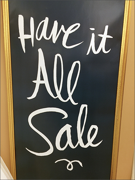 Have it All Sale Chalkboard Main