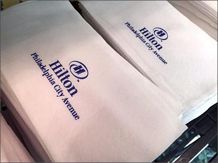 Hilton Branded Paper Towels Main