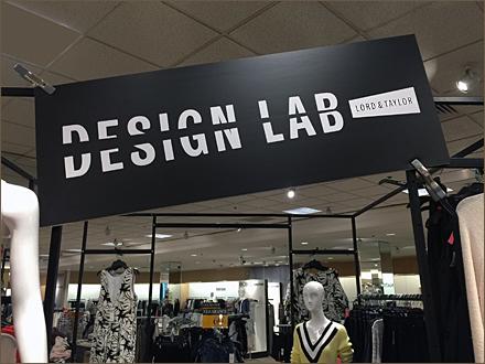 Lord & Taylor Design Lab Masthead