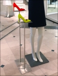Loud Shoes Sell The Dress Pedestals