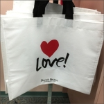 Love Branded Bag David's Bridal CloseUp