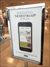 New Nieman Marcus iPhone 5-Star App Angled