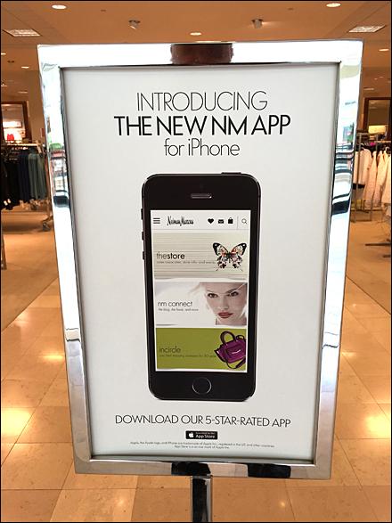 New Nieman Marcus iPhone 5-Star App Front