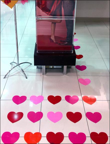 Valentine's Hearts Floor Graphics Main2