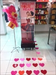 Valentine's Hearts Floor GraphicS OVERAL AUX