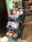 Wheeled Sample Cart Chalkboards Aux