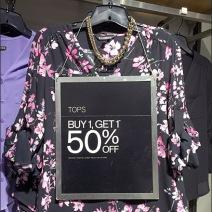 Blouse Clothes Hanger Faceout Sign Main
