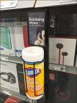 Clorox Sanitizing Headphone Wipes 1