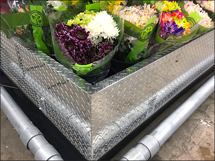 Diamond Plate Floral Arrangement Main